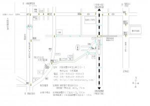 工場までの 詳細地図カラー